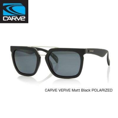 [CARVE/カーブ]SUNGLASSES【サングラス】 VERVE レディース Matt Black POLARIZED / SGCV-143