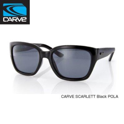 [CARVE/カーブ]SUNGLASSES【サングラス】 SCARLETT Black POLAレディース SGCV-148
