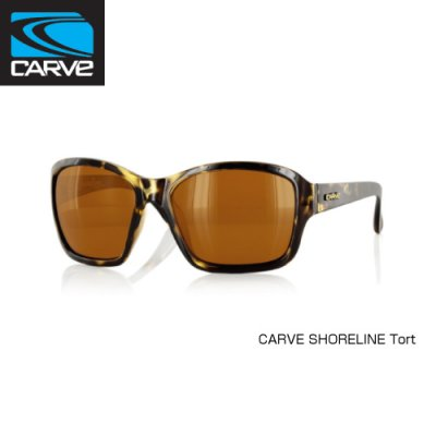 [CARVE/カーブ]SUNGLASSES【サングラス】SHORELINE Tort レディース SGCV-149