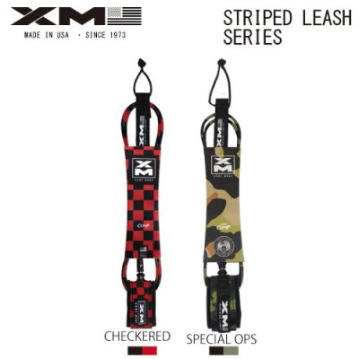 【XM】エックスエム STRIPED LEASH SERIES  6ft Comp/ SGXM-11
