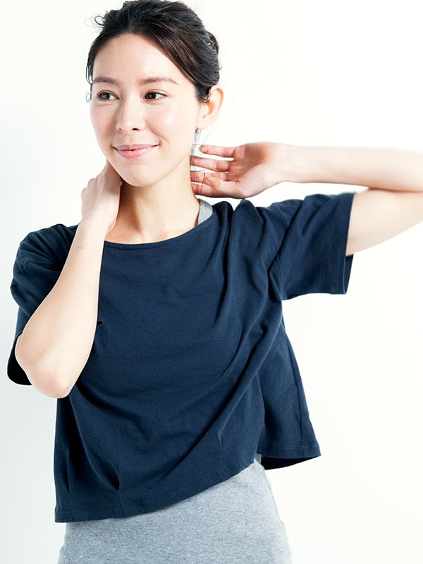 [Kyoto]コクーンTシャツ
