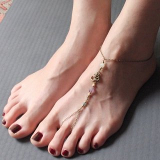 <VANI COLLECTION>リングアンクレット/Ring Anklet