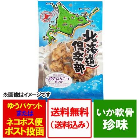 「いか 送料無料 珍味」 珍味 北海道産 真いかの焼きなんこつ 80g ネット価格 580円「メール便 送料無料 珍味 いか…