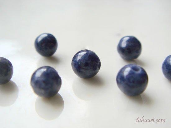 サファイアA+丸玉・約4mm【1粒68円】
