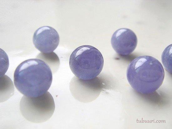 タンザナイトAA++丸玉・約6mm【1粒370円】