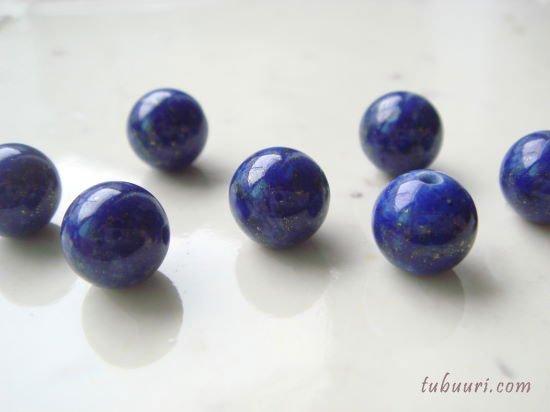 ラピスラズリA++丸玉8mm【1粒298円】