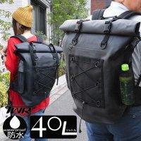 送料無料 大容量 防水バックパック TPUターポリン リュック (40L)リュックサック バイク