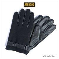 送料無料 バブアー インターナショナル ウィリス レザー グローブ Men's BARBOUR International Willis Leather Glove