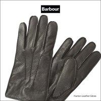 送料無料 バブアー ハートン レザー グローブ BABOUR Harton Leather Glove (Black) size S