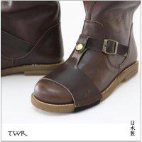 送料無料 TWR レディース エンジニアブーツ ライディングブーツ 栃木レザー シフトカバーセット MADE IN JAPAN<img class='new_mark_img2' src='https://img.shop-pro.jp/img/new/icons15.gif' style='border:none;display:inline;margin:0px;padding:0px;width:auto;' />
