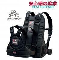 送料無料 日本製 タンデムツーリングベルト(ブラック)<br>安心感のある親子タンデム走行をバックアップ! タンデムライダース/親子タンデム/ツーリング