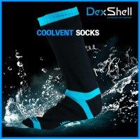 送料無料 DexShell 防水通気靴下 クールベント(DS628)男女兼用 清潔感 防水ソックス ゴルフ アウトドア 魚釣り