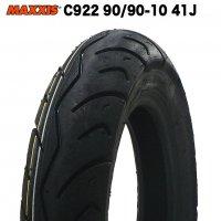 MAXXIS製 C922 90/90-10  (YAMAHA VINO/JOG純正採用)