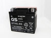 【保証書付き】YTX5L互換 台湾GSバッテリー GTX5L-BS アドレスV100 /ビーノ / スペイシー100