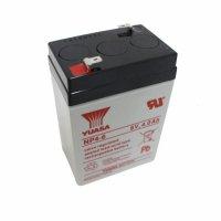 送料無料 180日補償 UPS・緊急照明・子供用電動自動車用バッテリー小型シール鉛蓄電池(6V4.0Ah)NP4-6