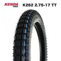 KENDA製2.75-17 TT ビンテージタイヤ / ブロックタイヤ ハンターカブ CT125 クロスカブ110
