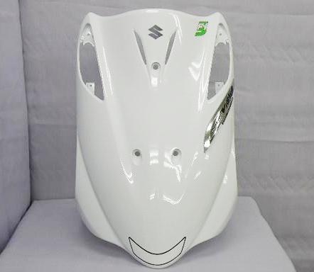 台湾suzuki 純正アドレスv125 G 5期fi レッグシールド ホワイト 輸入