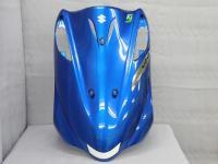 SUZUKI純正アドレスV125/G 5期FI レッグシールド(ブルー)
