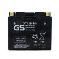 【保証書付き】台湾GSバッテリー GT12B-BS (YT12B-BS互換)