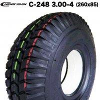予約2/6頃出荷 C-248-3.00-4   CHENG SHIN製 福祉 電動カートセニアカー ノーパンクタイヤ C-248 3.00-4 (260x85)