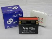 【保証書付き】台湾GSバッテリー GT12A-BS