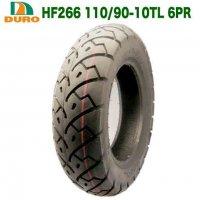 110/90-10TL 6PR  10インチ (HF266) 50CC GESR ギア50 リアタイヤ【ダンロップOEM】フリーウェイ フロントタイヤ DORO製タイヤ