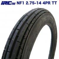 IRC製 タイヤ NF1 2.75-14 4PR TT HONDA 郵政カブ YAMAHA ニュースメイト90 フロントタイヤ