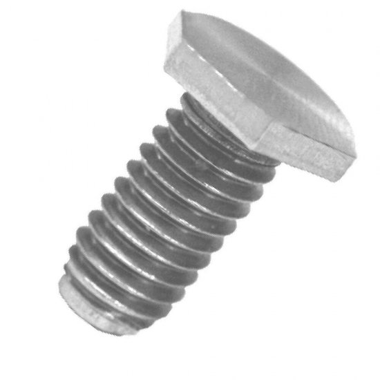 ステンレス超低頭六角ボルト M5X10L(L寸は首下表記です)