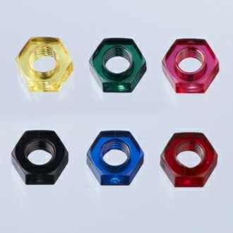 カラーポリカ六角ナット1種規格 M3