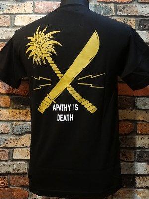 us versus them アスバーサスゼム  ポケットTシャツ (CROSSCUT POCKET)  カラー:ブラック