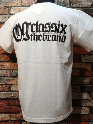og classix オージークラッシックス  7.1ozポケット付きTシャツ (roots&culture pocket tee)  カラー:ホワイト