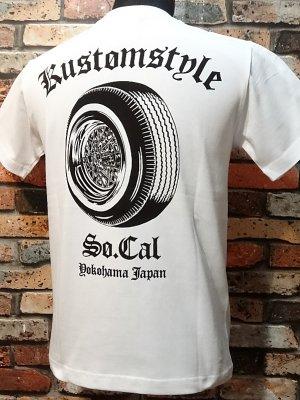 kustomstyle カスタムスタイル Tシャツ (KST1610WH) ks 30spoke  カラー:ホワイト