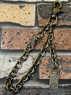 KUSTOMSTYLE カスタムスタイル ウォレットチェーン (KSWL1316BRASS) panther wallet chain brass