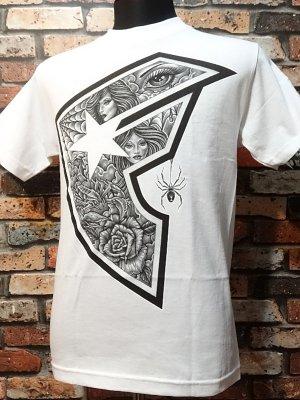 famous stars and straps  Tシャツ (Vescovi BOH)  カラー:ホワイト
