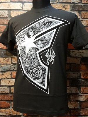 famous stars and straps  Tシャツ (Vescovi BOH)  カラー:チャコールグレー