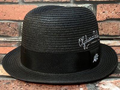 og classix  オージークラッシックス  ストロー チョロハット (penscript cholo hat) カラー:ブラック