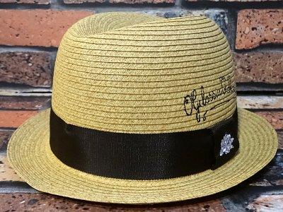 og classix  オージークラッシックス  ストロー チョロハット (penscript cholo hat) カラー:ナチュラル