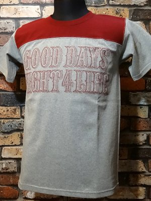 parasite パラサイト 7.1ozTシャツ pst football  カラー:グレー