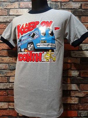 HOONIGAN フーニガン Tシャツ (KEEP ON HOONIN )  カラー:グレー