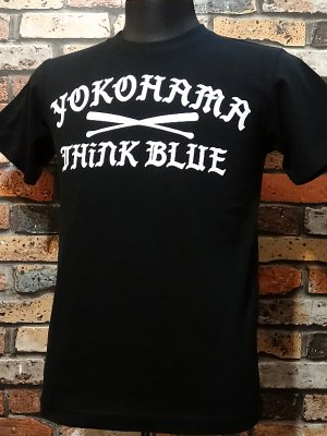 kustomstyle カスタムスタイル Tシャツ (KST1620BK) think blue  カラー:ブラック