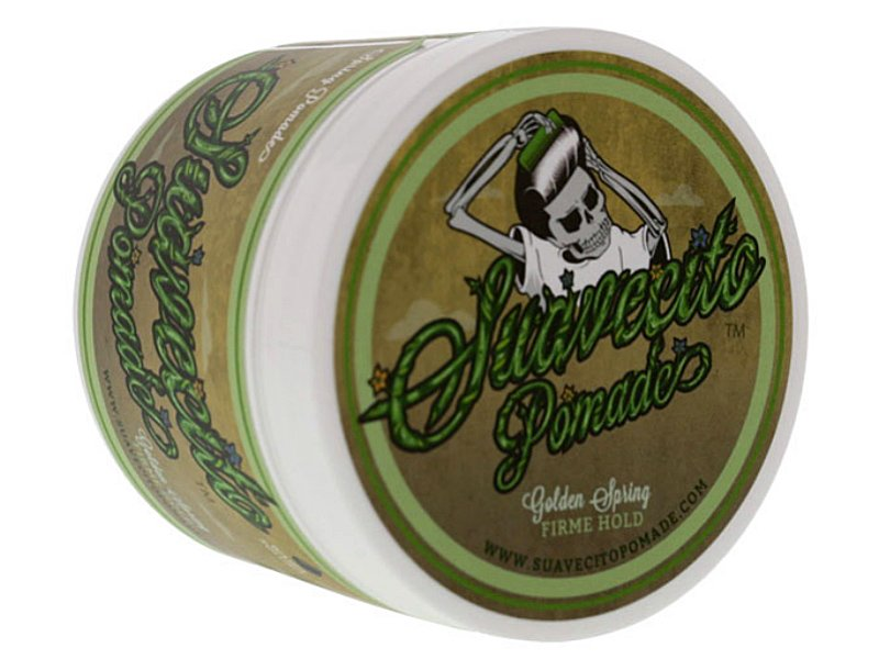SUAVECITO スアベシート -SPRING POMADE-  firme hold pomade 水性ポマード ストロングホールド 4OZ(約110G…