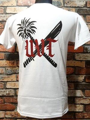 us versus them アスバーサスゼム  Tシャツ (CREW)  カラー:ホワイト