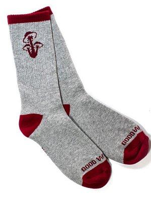 goodworth グッドワース ソックス  mushroom socks カラー:グレー