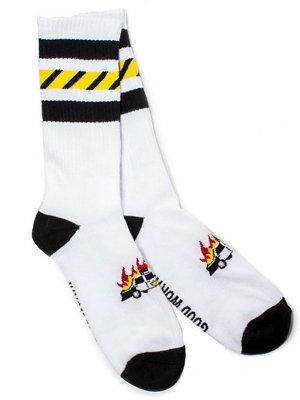 goodworth グッドワース ソックス  5-O socks カラー:ホワイト