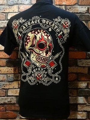 lucky13 ラッキー13 Tシャツ (The DEAD TATTOO)  カラー:ブラック