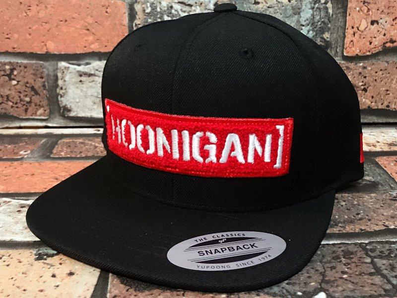 709716feb7b0d HOONIGAN フーニガン スナップバックキャップ (LETTERMAN) カラー:ブラック