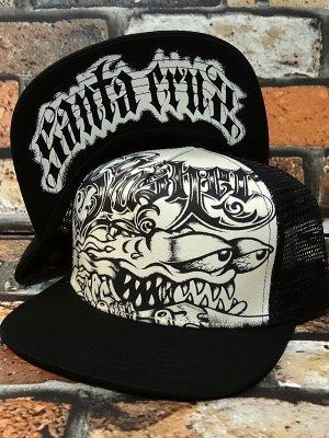 santa cruz  サンタクルーズ メッシュキャップ (jailhouse slasher  trucker hat) カラー:ナチュラルxブラック
