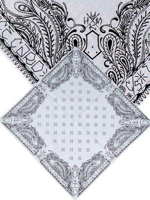 kustomstyle カスタムスタイル バンダナ fcband-wht face card bandana  カラー:ホワイト