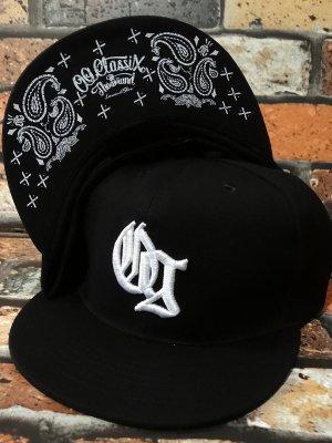 OG Classix オージークラッシックス  スナップバックキャップ (OG RING BANDANA SNAP BACK CAP) カラー:ブラック