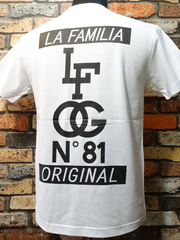 la familia original ラ ファミリアオリジナル  Tシャツ (CARNAL) カラー:ホワイト